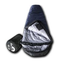Wolftraders KidMummy +20 Degree Fahrenheit Premium Ripstop Youth Mummy Sleeping Bag with Xfil