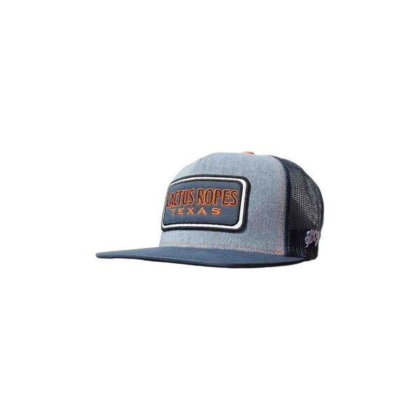 best service 26aee a2529 ... wholesale coupon for hooey hat mens cactus ropes snapback trucker o s  blue navy cr022 91431 b0b04
