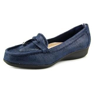 Karen Scott Philiss Moc Toe Synthetic Loafer