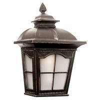 "Trans Globe Lighting PL-5429-1 11"" Width Chesapeake 1 Light Lantern Outdoor Wall Sconce"