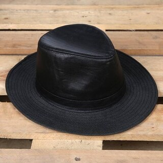 Mad Style Black Outback Straw Hat