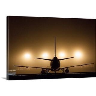 """""""Hangar lights"""" Canvas Wall Art"""