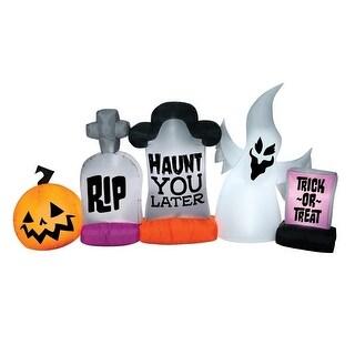 "Gemmy 221487 Halloween Inflatable Graveyard Stone - 55"" h x 108"" w x 22"" l"