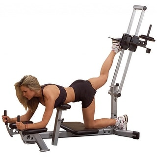 Body-Solid Powerline Glute Master - Black