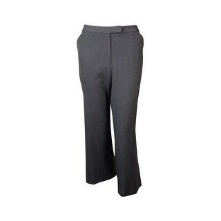 Calvin Klein Women's Basic Wide Leg Cropped Trousers