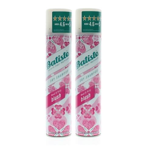 Batiste Instant Hair Refresh Dry Shampoo Floral & Flirty Blush 6.73oz / 200ml (2 PACK) - Clear