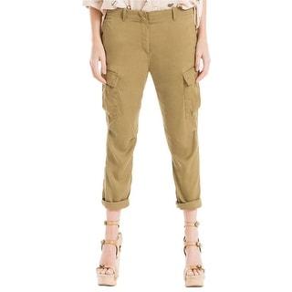 Max Studio London Cuffed Cargo Pants