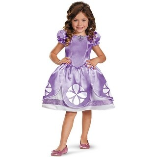 Disguise Disney Sofia the First Sofia Classic Toddler Costume - Purple