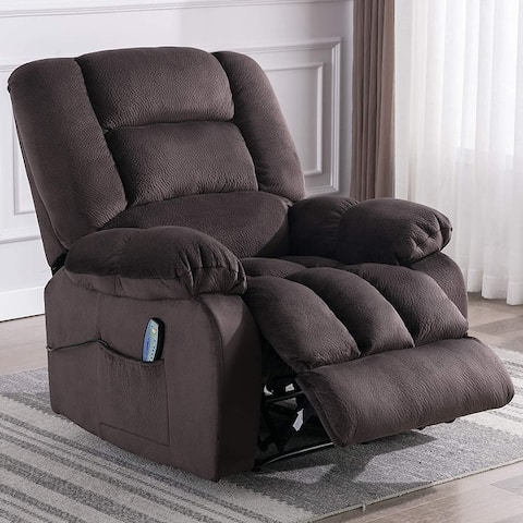 Big Massage and Manual Recliner Chair with Convenient pocket