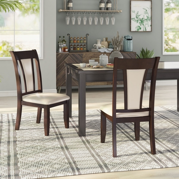 Furniture of America Dark Cherry Dining Chair (Set of 2). Opens flyout.