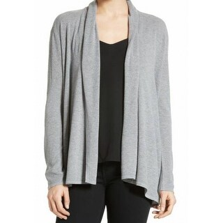Soft Joie NEW Gray Heather Womens Size XS Open Front Cardigan Sweater