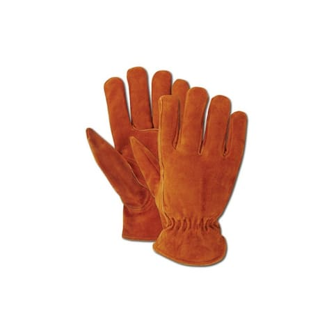 Magid TB441ETXL Rich Suede Split Cowhide Driver Glove for Men's, X-Large