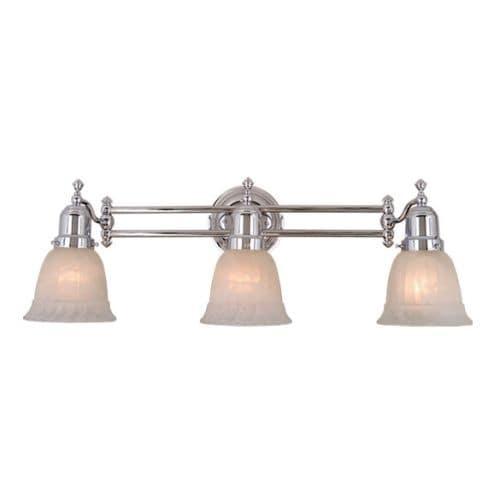Vaxcel Lighting VL28963 Swing Arm 3 Light Bathroom Vanity Light - 23 1/2 Inches Wide