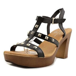 Eric Michael Ella Women Black Sandals