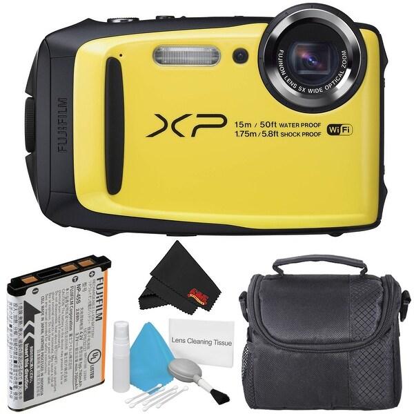 Fujifilm FinePix XP90 Waterproof Digital Camera Bundle (Intl Model)