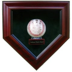 Babys First Autograph 1 Baseball with Nameplate Display Case