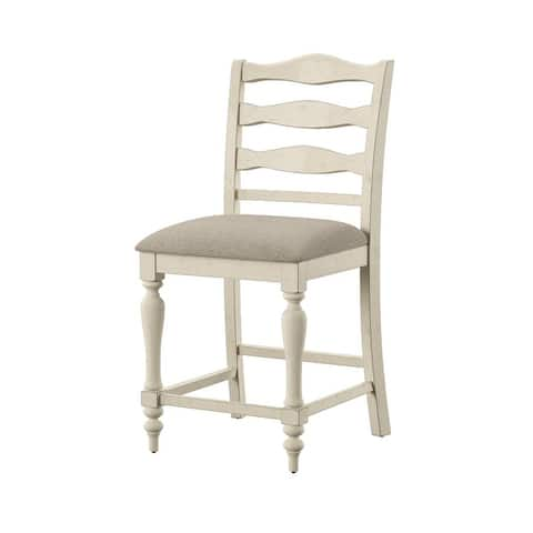 Furniture of America Ames Farmhouse Counter Height Chairs (Set of 2)
