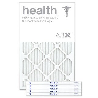 Replacement Air Filter 16x25x1 MERV 13 Comparable to Filtrete Healthy Living MPR 1500 1550 1900 2200 2400, 6-Pk
