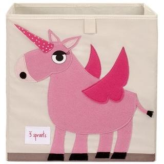 3 Sprouts Storage Box - Unicorn Storage Box
