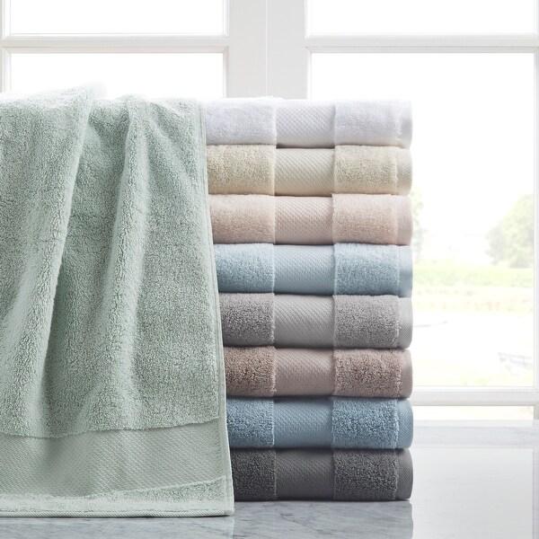 Madison Park Signature Turkish Cotton 6 Piece Bath Towel Set. Opens flyout.