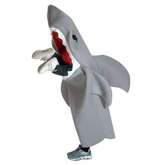 Man Eating Shark Child 7-10 Medium Costume - Medium (size 7-10)