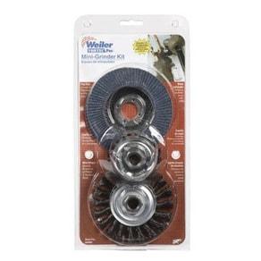 Weiler 36099 Mini Grinder Accessory Kit, 3 Piece