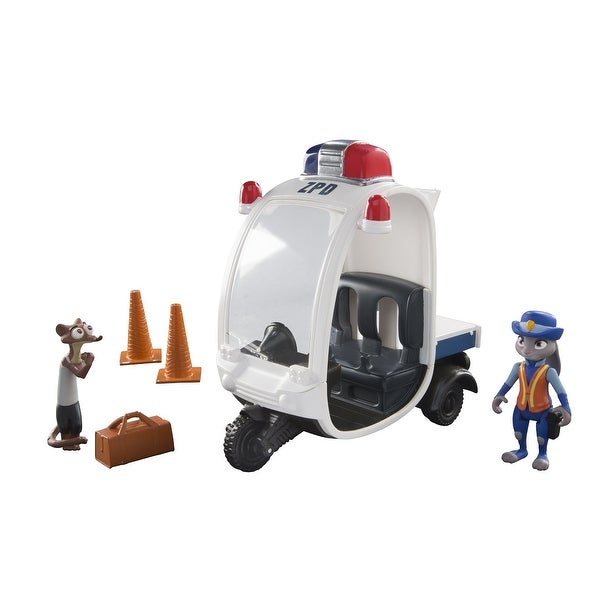 Disney Zootopia Judy Hopps Vehicle Meter Maid Pursuit