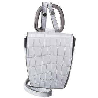 Link to Danse Lente Croc-Embossed Leather Crossbody Similar Items in Shop By Style