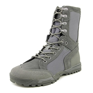 5.11 Tactical Recon Boot Men Round Toe Leather Gray Combat Boot