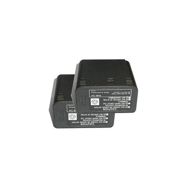 Battery for Kenwood KNB12A (2-Pack) 2-Way Radio Battery