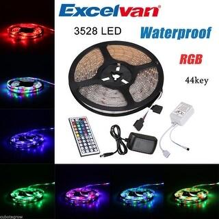 5M SMD 3528 RGB 300 Led Flexible Light Strip Lamp+44 key IR+12V 2A Power Supply - bright high quality rgb