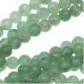 Light Green Aventurine Smooth Round Beads 3mm/16 Inch Strand - Thumbnail 0