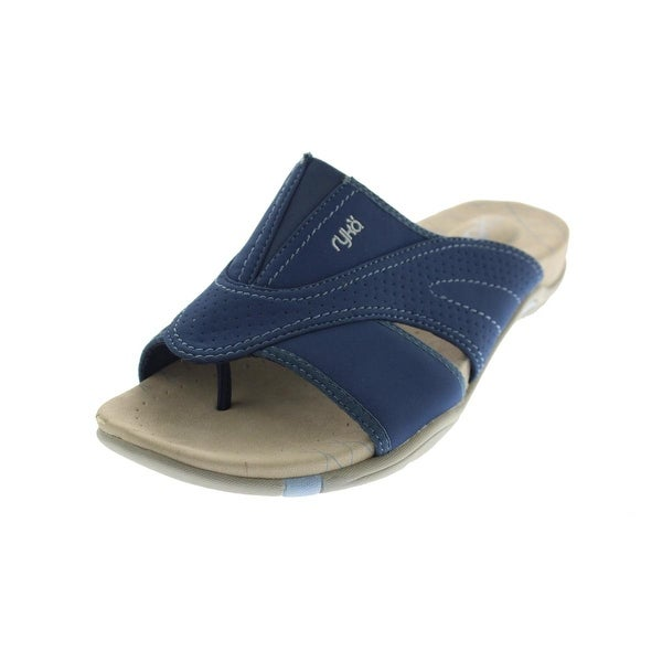 Ryka Womens Essence Thong Sandals Casual Slide