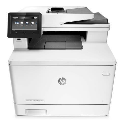 HP LaserJet Pro MFP m477fdw Wireless Color All-In-One Printer (White)