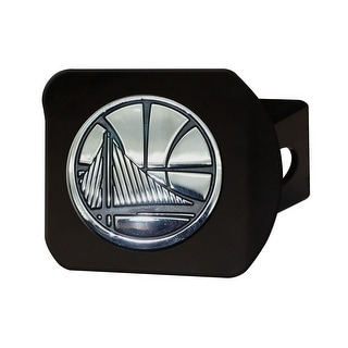 """NBA - Golden State Warriors Black Hitch Cover 4.5""""x3.37"""""""