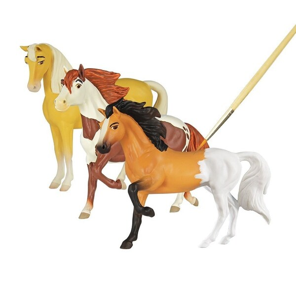 Breyer Spirit Riding Free Deluxe Spirit & Friends Painting Kit - multi