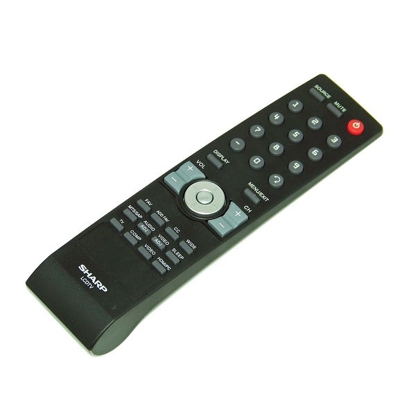 OEM Sharp Remote Control Originally Shipped With: LC42SB48UT, LC-42SB48UT, LC32SB28UT, LC-32SB28UT