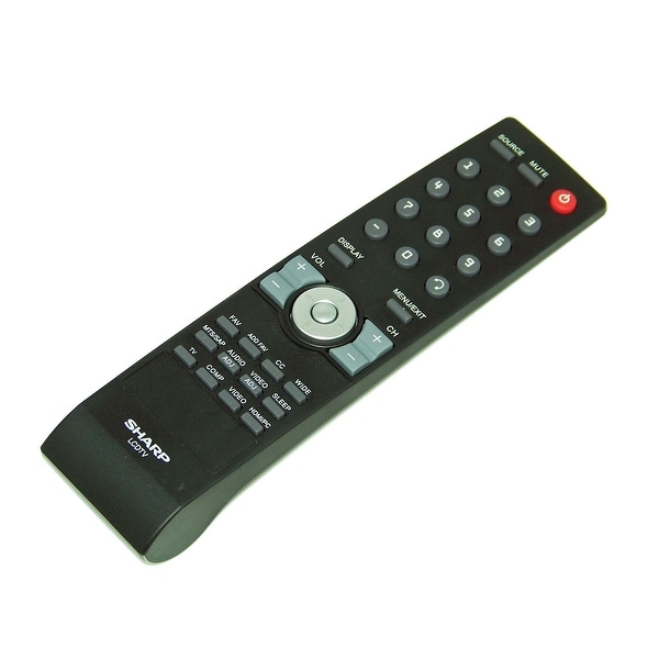 OEM Sharp Remote Control Originally Shipped With: LC47SB57, LC-47SB57, LC32SB28, LC-32SB28