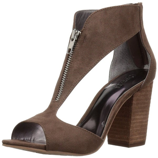 Carlos by Carlos Santana Womens Jury Fabric Peep Toe Casual Ankle Strap Sandals - 7.5