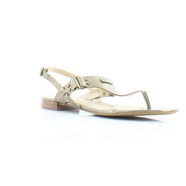 Lauren Ralph Lauren Valinda Women's Sandals & Flip Flops Gold - 5