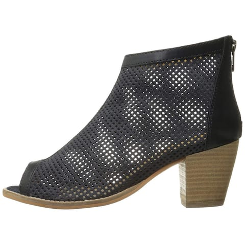 Charles by Charles David Womens unify Canvas Peep Toe Ankle Fashion Boots