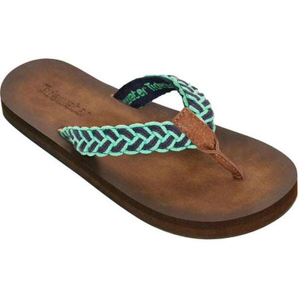 1a750f5d625d Shop Tidewater Sandals Women s Tallulah Flip Flop Green Navy - Free  Shipping On Orders Over  45 - Overstock.com - 11712829