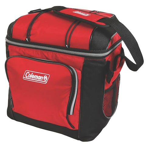 Coleman 30 can cooler red