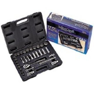 Mintcraft TS1033 Socket Set 33-Piece 3/8 Drive