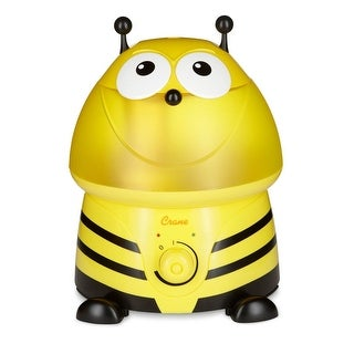 Crane Adorable Ultrasonic Cool Mist Humidifier - Bumble Bee w/ Filter