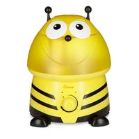 Crane Adorable Ultrasonic Cool Mist Humidifier - Bumble Bee with Bonus filter EE-8246BF