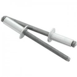 """Allstar Performance ALL18103 Silver 1/4"""" to 3/8"""" Grip Small"""