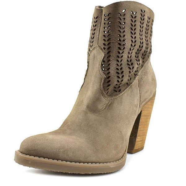 c2f860c15 Shop Musse & Cloud Avaly Women Round Toe Suede Bootie - Free ...