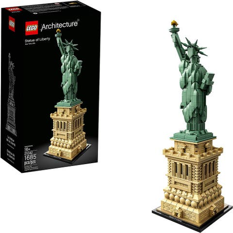 LEGO Architecture Statue of Liberty 21042 Building Kit, 1685 Pieces