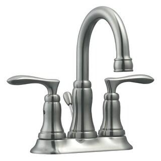 """Design House 525840 Double Handle 4"""" Centerset Bathroom Faucet"""